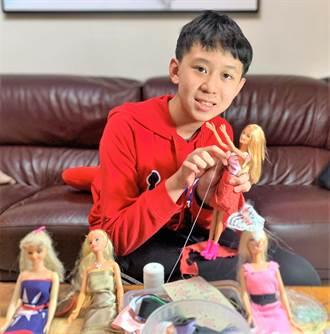 泰山圖書館7日展出100件娃娃風格衣 小六男童、7旬爺爺作品備受矚目