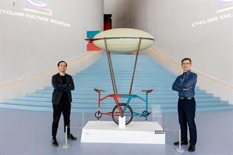 防疫也能騎車「趣」 藝術單車大開眼界