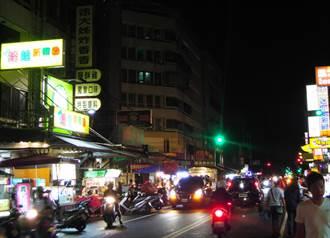 台中忠孝夜市驚見這美景 當地人讚:中華民國美學終於進步