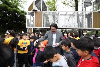 基隆「愛尚楓樂園」特色遊戲場啟用  林右昌:年底前7區完成