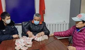 陆小学生路边捡到112万现金 失主拒认领还呛:我不缺钱