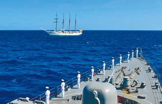 牽制大陸 德艦睽違19年進南海