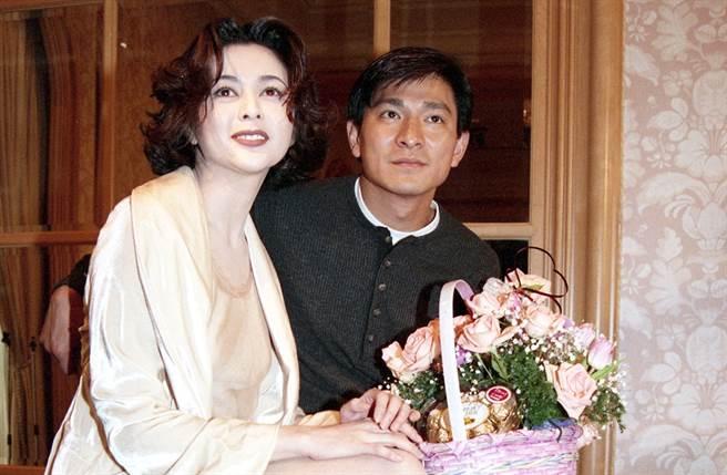 劉德華、關之琳過去傳過緋聞。(圖/中時資料照片)