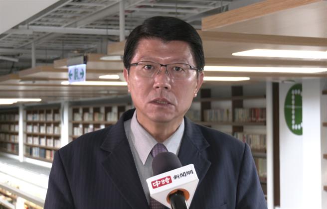 台南市議員 謝龍介(攝影/范佐意)