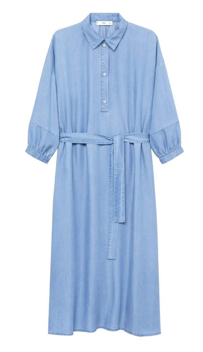 Global Mall屏東市的MANGO奧卡洋裝,原價2490元,優惠價2090元。(Global Mall提供)