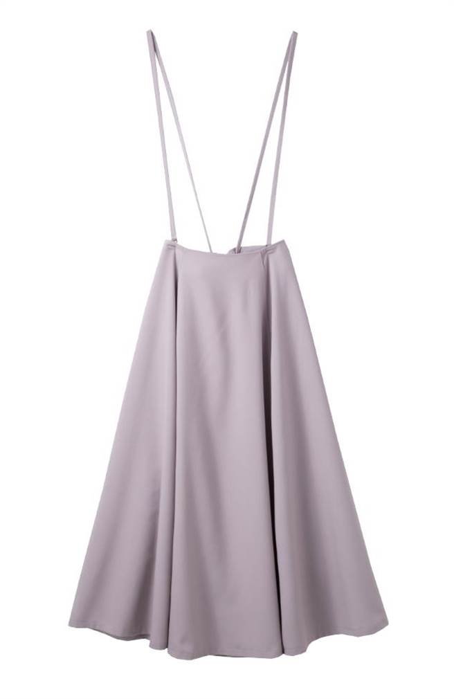 Global Mall新北中和的H2O+IENA吊帶長裙,原價3480元,優惠價2480元。(Global Mall提供)