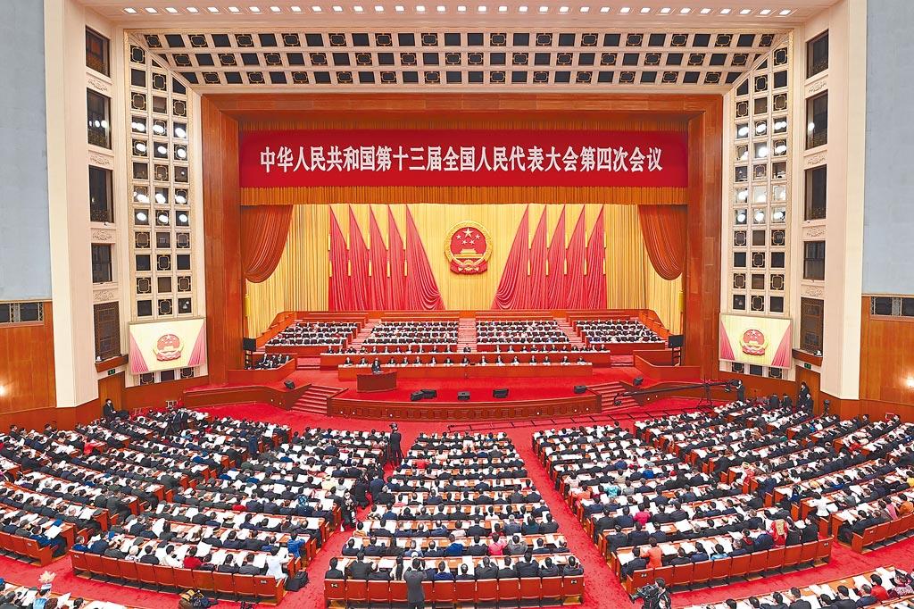 3月5日,第十三屆全國人民代表大會第四次會議在北京人民大會堂開幕。(新華社)