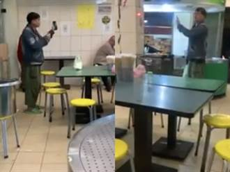 中和男大鬧自助餐店 乞討免費便當還錄影喊告:你侮辱我