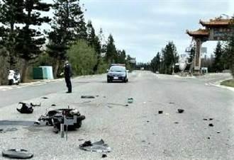 澎湖西嶼鄉意外車禍 未成年機車駕駛當場死亡