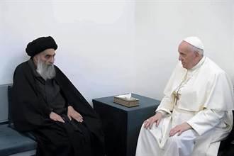 教宗歷史性訪伊拉克 與什葉派最高宗教領袖會晤