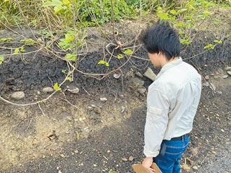 花蓮嶺頂遺址被毀容 史前文物四散