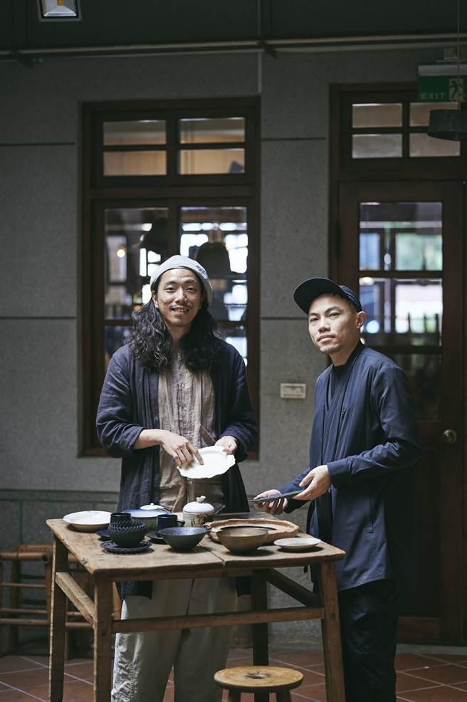 選品店創立者謝欣翰 × 設計師黃顯勛(圖/陳冠凱攝)