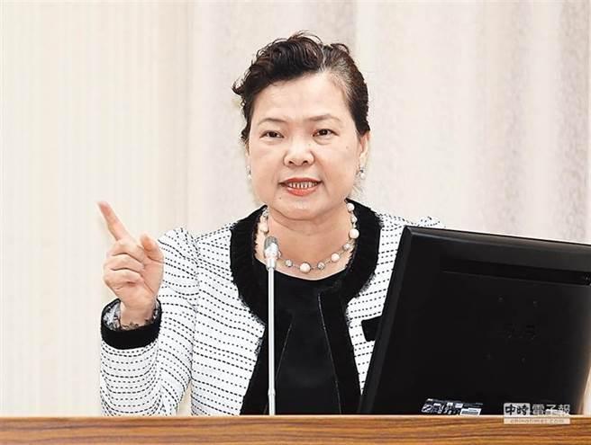 針對缺水問題,經濟部長王美花表示,園區和工業區因應用水需求,可在旱災期間鑿井使用。(本報資料照)