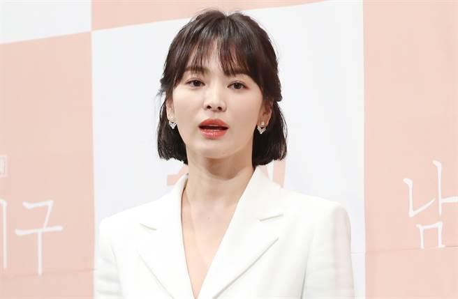 女神宋慧喬跌出2021韓國最美女演員榜單。(圖/達志影像)