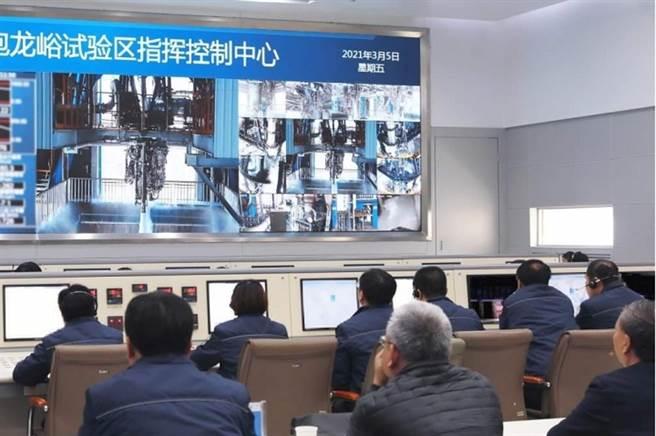 大陸500噸級液氧煤油火箭發動機全工況半系統試車取得成功。(圖/中國航天報)