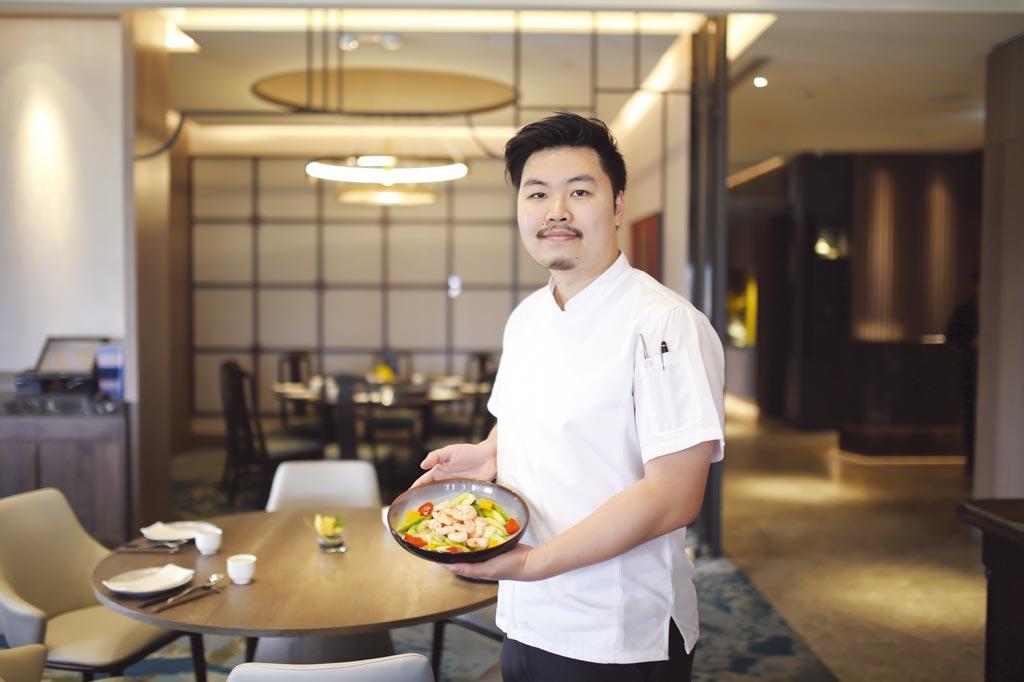 台中福華大飯店「女王春茶饗宴」廚藝總監William Shen。圖/台中福華大飯店提供