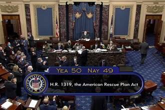 美參院通過1.9兆美元紓困案 眾院9日表決料過關