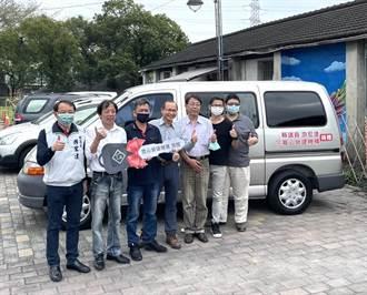 游宏達議員和寬心建設公司 愛心捐輸下獲贈公務車