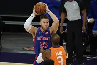 NBA》籃網可能簽葛瑞芬 先發5人全明星