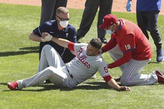 MLB》去年被強襲球命中要害 艾瓦瑞茲轉戰巨人