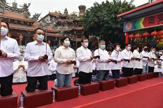 鎮瀾宮58年來首次祈雨 顏寬恒吐心聲:保祐台灣的護國神山