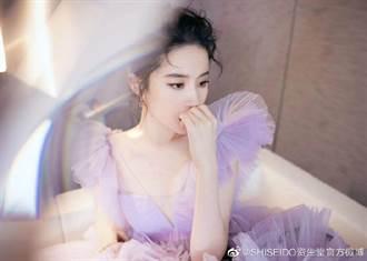 劉亦菲甩腫樣 網友無P照流出 女神瘦美狂噴仙氣