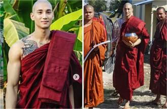 地表最帅和尚爆失联 网忧他卷缅甸衝突被官方抓走