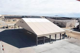 美國空軍開始測試B-21臨時機棚原型