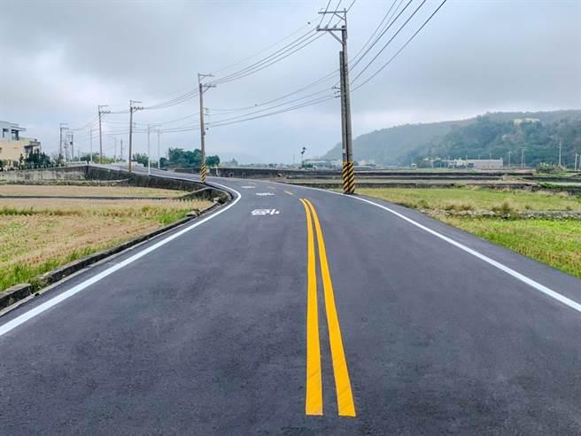 建設局燙平土城路180號至廍子路口共165公里。(台中市政府提供)