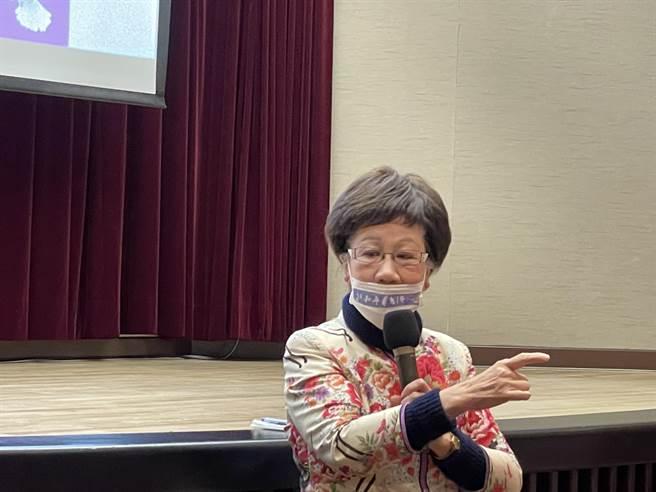 前副總統呂秀蓮(吳家豪攝)