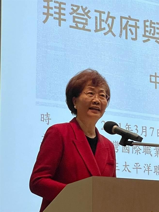 前駐美副代表裘兆琳。 (吳家豪攝)