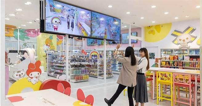 為滿足不同店型及擺放位置的需求,7-ELEVEN採用三星顯示器做為店內 數位看板,提供資訊、菜單、轉播等不同使用。(圖/三星電子)