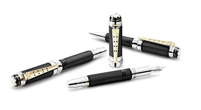 萬寶龍著名人物系列「貓王」艾維斯普里斯萊特別版筆具系列,2萬6400元起。(Montblanc提供)