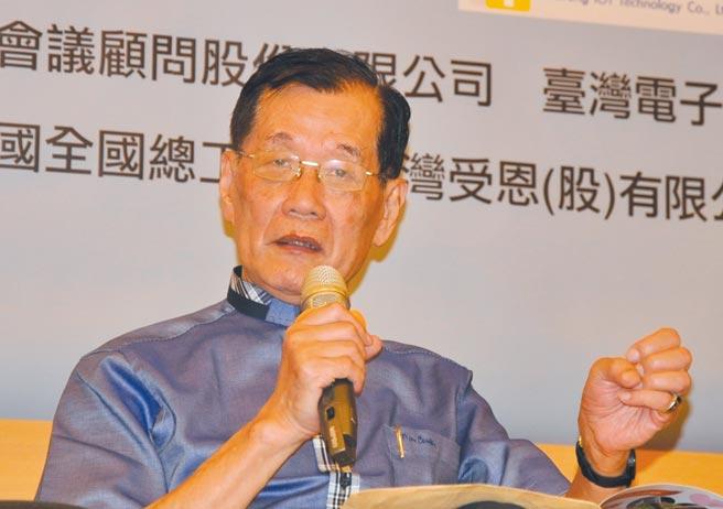 社團法人台灣醫務管理學會名譽理事長謝武吉。圖╱嚴強國