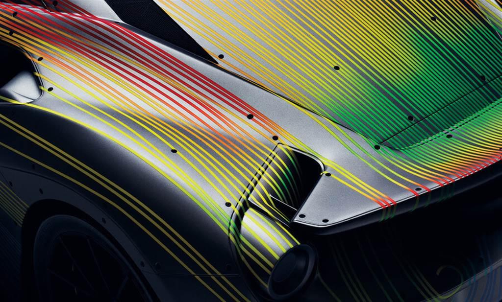 Ferrari以CFD展現空氣動力學的藝術創作 打造Speedform特殊項目車款
