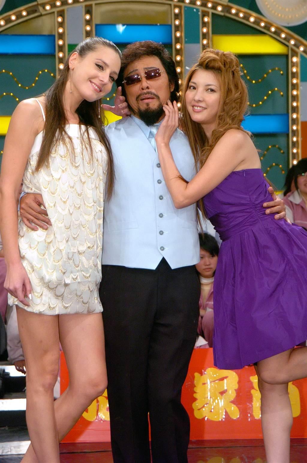 相馬茜曾活躍台灣演藝圈,左為瑪格麗特。(圖/中時資料照)