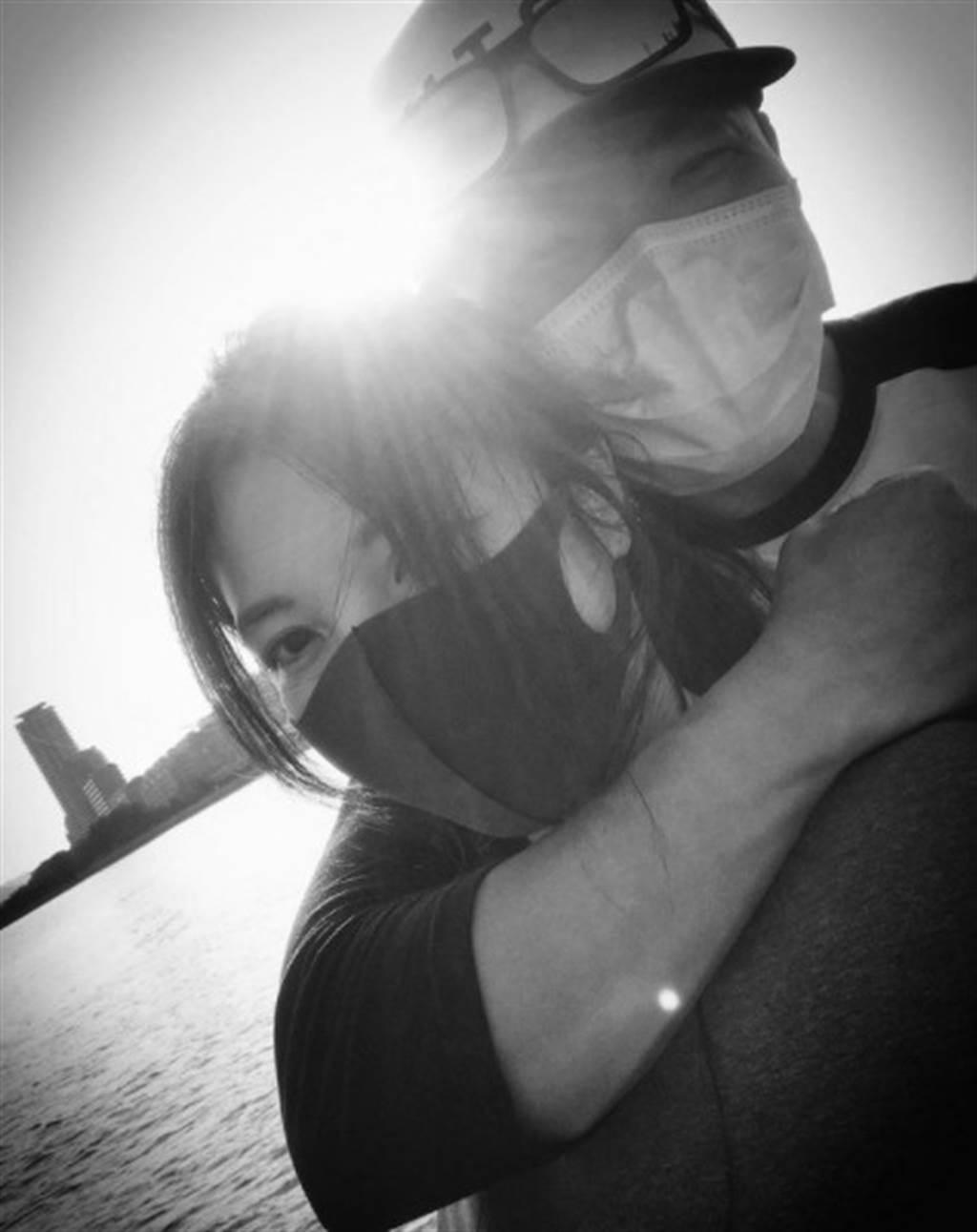 相馬茜和李玖哲因疫情分居,感情依舊好到令人稱羨。(圖/IG@李玖哲)