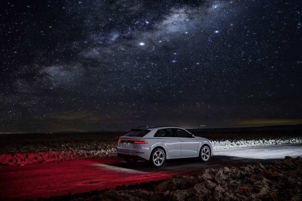 旗艦豪華休旅耀眼乍現 Audi Q8 392萬元起上市