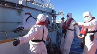 永裕兴18号失联渔船拖回台 全员10人疑遭大浪卷入海