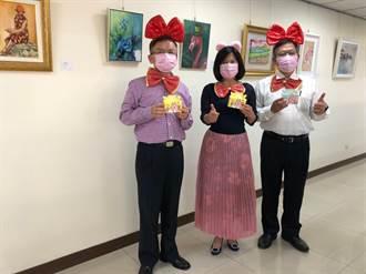 中市西屯區公所慶祝婦女節 團隊可愛變裝籲重視女權