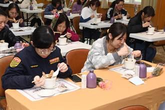 歡慶38婦女節 苗栗縣警察局煲湯、送禮超暖心
