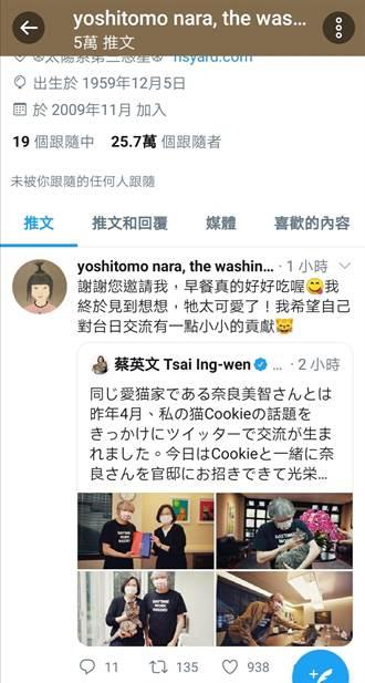 擁抱蔡想想 日本藝術家奈良美智辦展感謝台灣