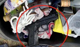 槍哪來的?10槍轟死2人 嫌犯:賭友槍抵債 再搜出7子彈