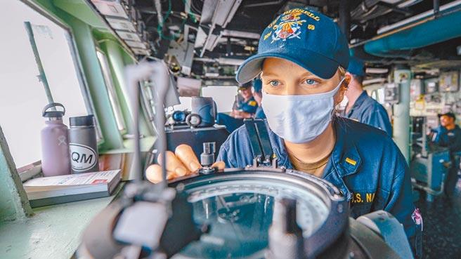 台灣與美國執行「日輝計畫」多年來,合作監聽中國大陸,分享雙方情資。美艦通過台海時,也是循此管道轉告我方。圖為美國海軍「伯克級」驅逐艦羅素號。(摘自臉書)