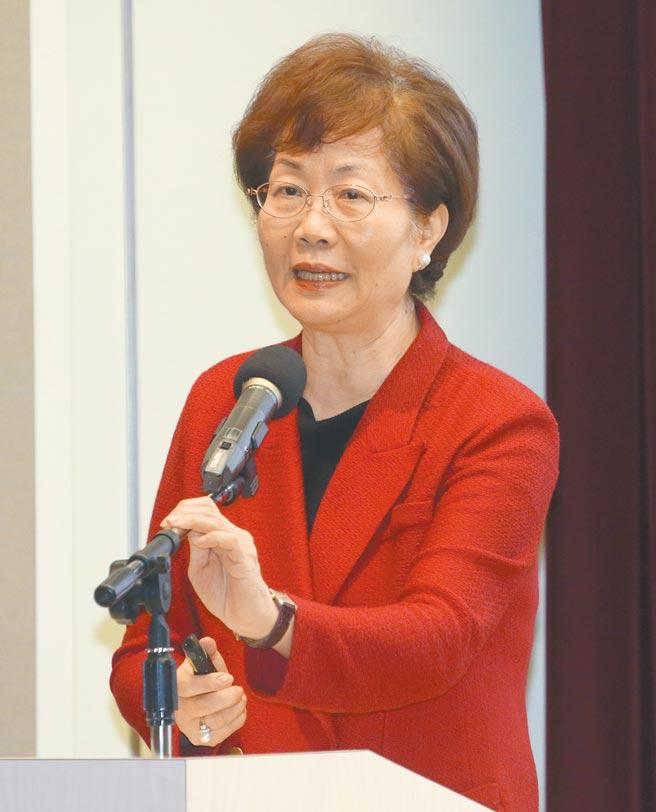前駐美副代表裘兆琳7日出席「2021婦女和平論壇」。(陳君瑋攝)