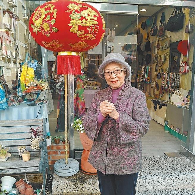 潘媽媽說:「家就在這裡,自己做的東西能與客人分享,讓她心滿意足」。(潘文琦提供)