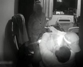 警察叔叔有练过 徒手扛百公斤跌倒身障男
