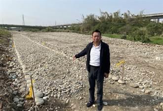 筏子溪生態綠廊花大錢卻未考慮颱風 議員:如同把市民的錢丟進水裡