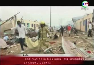 军营连环爆增至98死 赤道几内亚吁国际救援