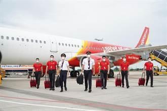 越捷航空預計6月復飛胡志明、河內 越竹航空估5月飛河內每周2班
